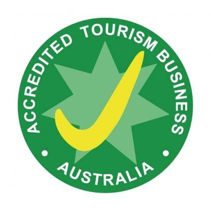 free vector Accredited tourism business australia