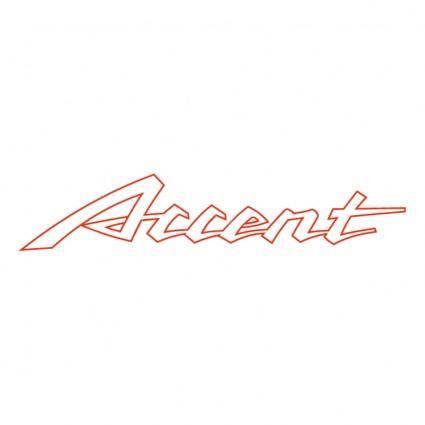 Accent 1