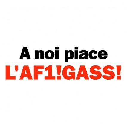 free vector A noi piace laf1gass