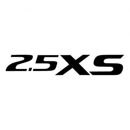 free vector 25 xs