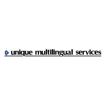 free vector Unique multilingual services