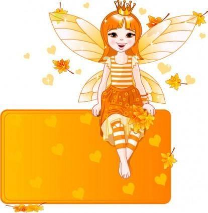 free vector Fairy 01 vector