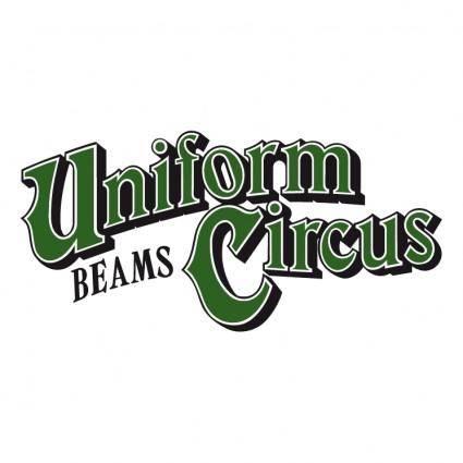 free vector Uniform circus beams