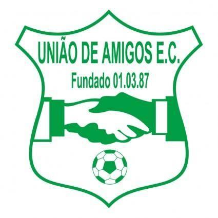 free vector Uniao de amigos esporte clube de mostardas rs