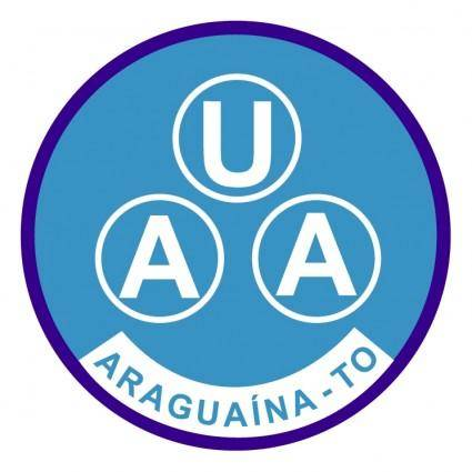 free vector Uniao atletica araguainense de araguaina to