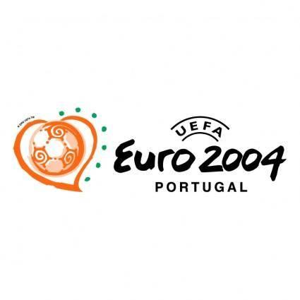 free vector Uefa euro 2004 portugal 7