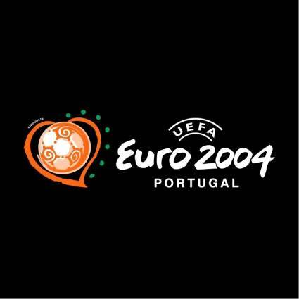 free vector Uefa euro 2004 portugal 3
