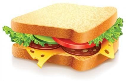 free vector Fast food 05 vector