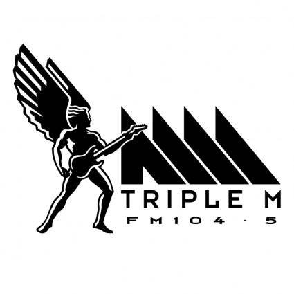 free vector Triple m 0