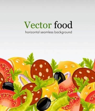 Fast food 03 vector