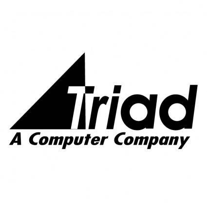 free vector Triad computer solutions