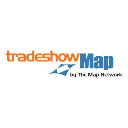 free vector Tradeshow map