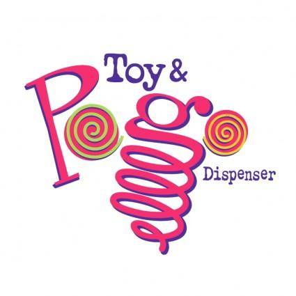 Toys pogo dispenser