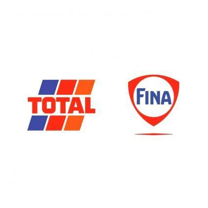 free vector Total fina