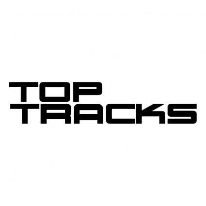 free vector Top tracks