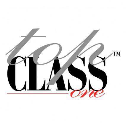free vector Top class one