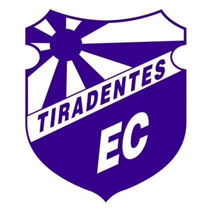 free vector Tiradentes esporte clube tijucassc