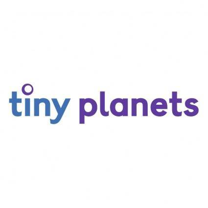 free vector Tiny planets