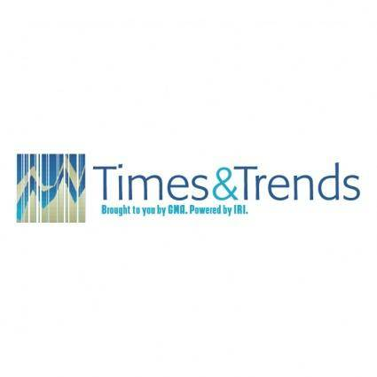 free vector Times trends