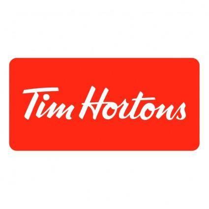 free vector Tim hortons 1