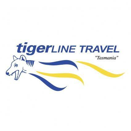 free vector Tigerline travel