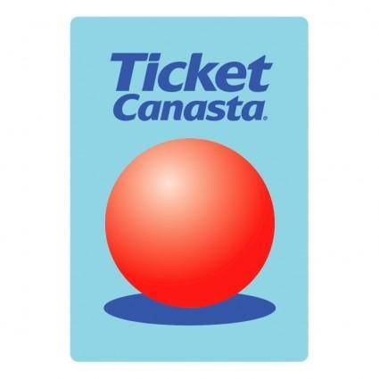free vector Ticket canasta 0