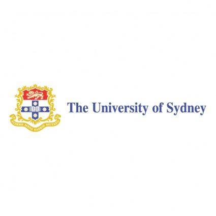 free vector The university of sydney 0