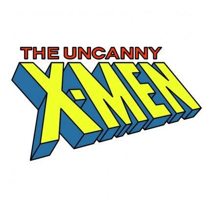 free vector The uncanny x men