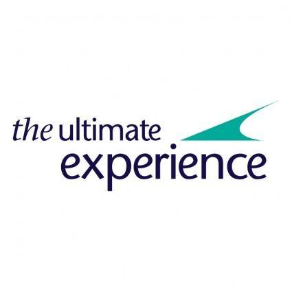 free vector The ultimate experience 0