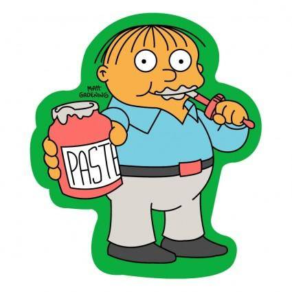 free vector The simpsons 0