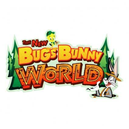 free vector The new bugs bunny world