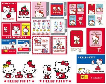 free vector Hello kitty official vector 51538 57