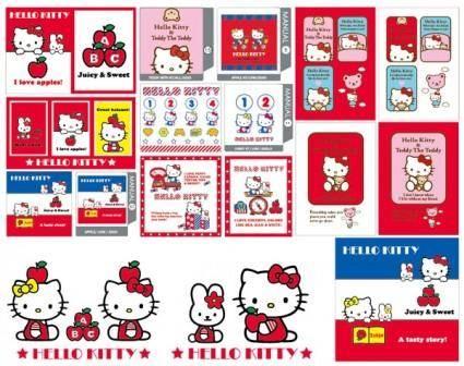 free vector Hello kitty official vector 51538 57