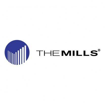 free vector The mills corporation 0