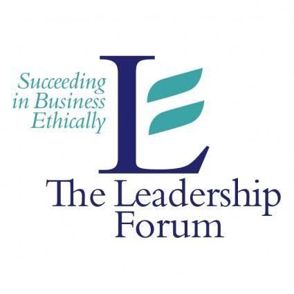 free vector The leadership forum