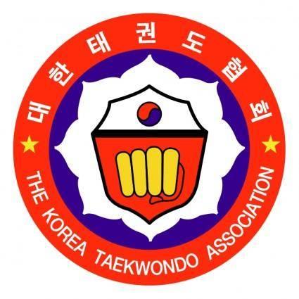 free vector The korea taekwondo association