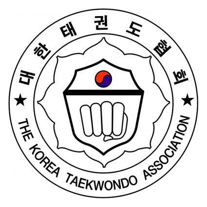 free vector The korea taekwondo association 0