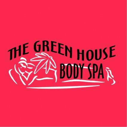 free vector The green house body spa