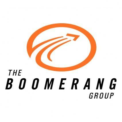 free vector The boomerang group
