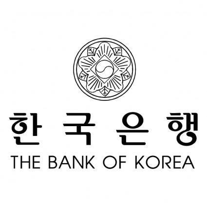 free vector The bank of korea