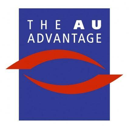 free vector The au advantage