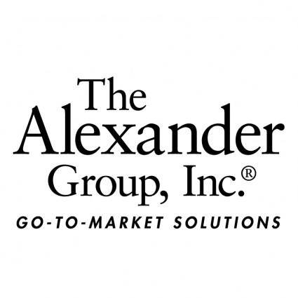 free vector The alexander group