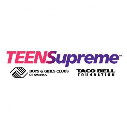 free vector Teensupreme 1