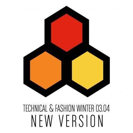 free vector Technical fashion winter