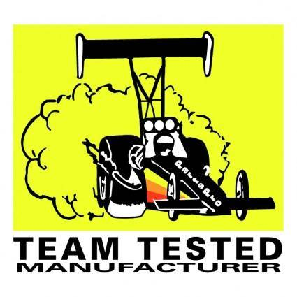 free vector Team tested manufacturer