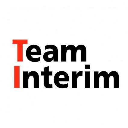 free vector Team interim
