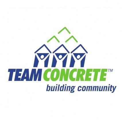 free vector Team concrete