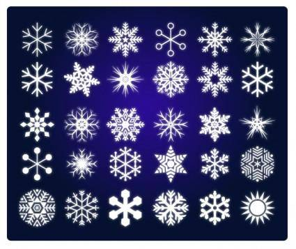 free vector Snow of vector