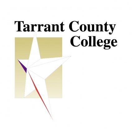 free vector Tarrant county college 2