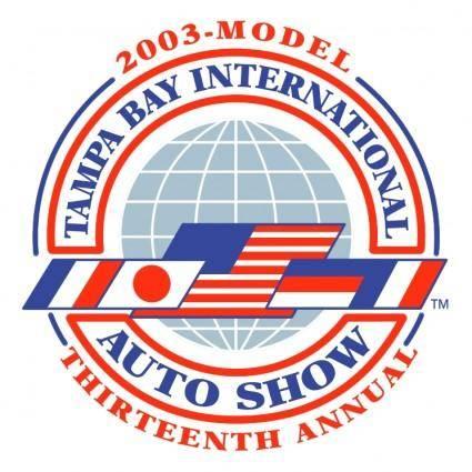 free vector Tampa bay international auto show